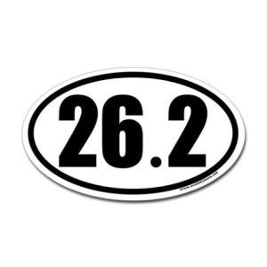 26.2sticker